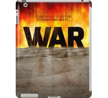 It's War iPad Case/Skin