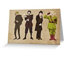 Blackadder Greeting Card