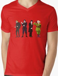 Blackadder Mens V-Neck T-Shirt