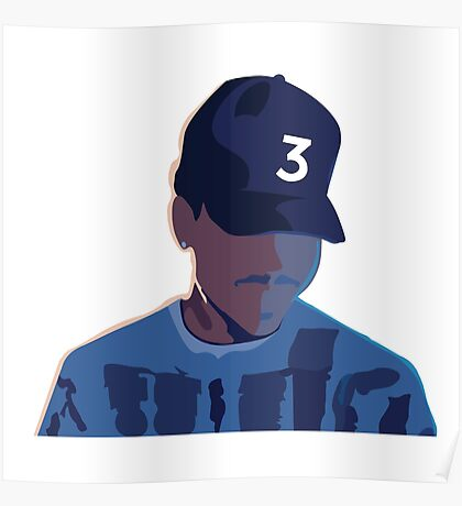 Chance the Rapper - Coloring Book  Poster