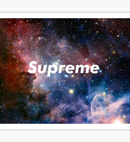 Supreme Galaxy Sticker