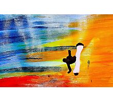 Capoeira love martial arts brazil Photographic Print