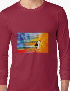 Capoeira love martial arts brazil Long Sleeve T-Shirt