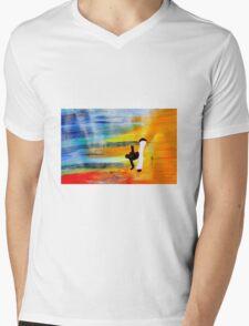 Capoeira love martial arts brazil Mens V-Neck T-Shirt