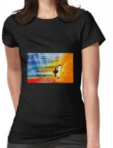 Capoeira love martial arts brazil Womens Fitted T-Shirt