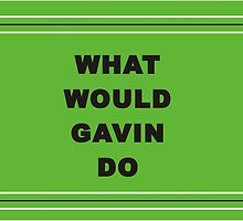 What Would Gavin Do - In Green! by Irena Paluch