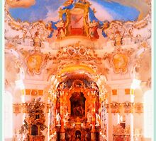 Wieskirche ~ The Altar by ©The Creative  Minds