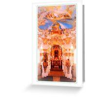 Wieskirche ~ The Altar Greeting Card
