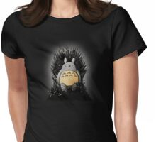 Throne of the Forest Spirit Womens Fitted T-Shirt