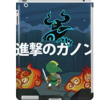Attack on Ganon iPad Case/Skin