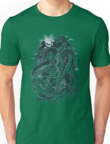 Dragon Tiger Ronin Fight Unisex T-Shirt