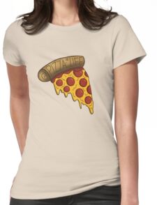 Pizza is LIFE Womens Fitted T-Shirt
