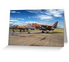 SEPECAT Jaguar GR.3A XX119/EB Greeting Card