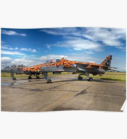 SEPECAT Jaguar GR.3A XX119/EB Poster