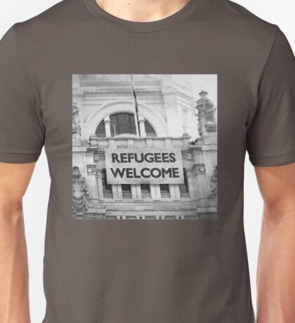 Refugees Welcome Unisex T-Shirt