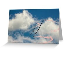 Ballet in the Clouds Greeting Card