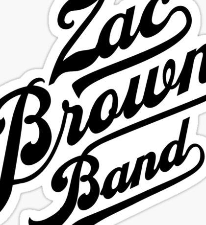 Zac Brown Band Logo Sticker