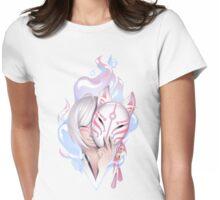 Japanese deamon fox Womens Fitted T-Shirt