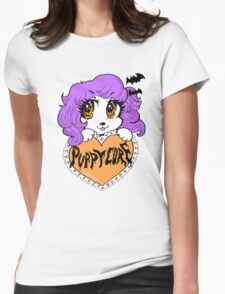 PUPPYCORE WITCHY NIGHT Womens Fitted T-Shirt