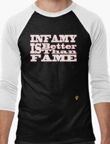 Infamy Men's Baseball ¾ T-Shirt