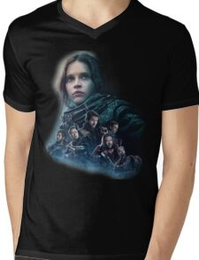 Star Wars Rogue One Mens V-Neck T-Shirt