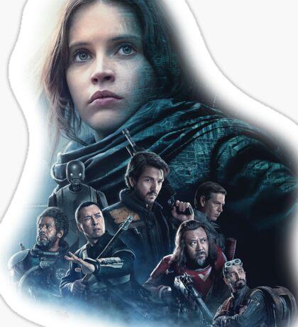 Star Wars Rogue One Sticker