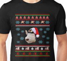 Santa Claus Penguin Christmas Dabbing Through the Snow Unisex T-Shirt