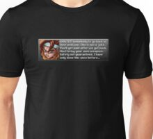 Safety Not Guaranteed New Game+ Unisex T-Shirt
