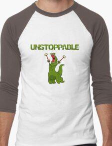 Unstopable T-rex Men's Baseball ¾ T-Shirt