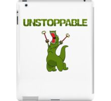 Unstopable T-rex iPad Case/Skin