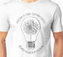 from a tiny spark Unisex T-Shirt
