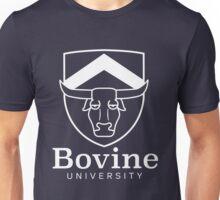 The Simpsons - Bovine University | White Unisex T-Shirt