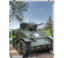 M5 Stuart Light Tank iPad Case/Skin
