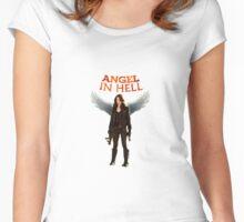 Angel Wynonna Earp  Women's Fitted Scoop T-Shirt