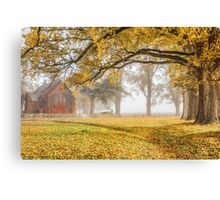 Gostwyck Chapel in the Fall - Uralla NSW Australia Canvas Print