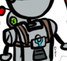 Clank as Ratchet Sticker