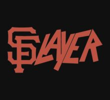 San Francisco Giants + Slayer  by BowieBadu