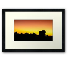 Giants Playground Namibia Africa Framed Print
