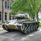 M24 Chaffee Tank by Jimmy Ostgard