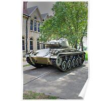 M24 Chaffee Tank Poster