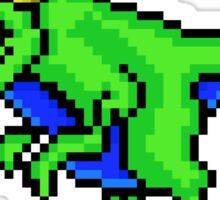 Cool Dinosaur - Pixels Sticker