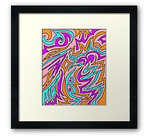 Swirls and Furls   Framed Print