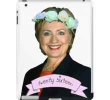 Hipster Hillary for President iPad Case/Skin