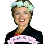 Hipster Hillary for President by bigelowed