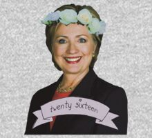 Hipster Hillary for President Kids Clothes