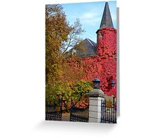 Chateau de Differdange Greeting Card