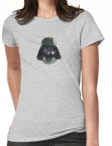 Darth Vader Triangles Womens Fitted T-Shirt