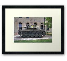 M24 Chaffee Tank Framed Print