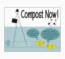 Compost now! One Piece - Long Sleeve