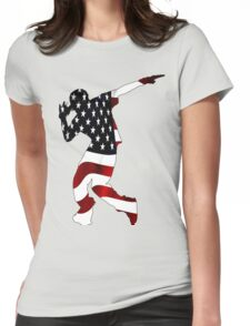 In The Flag Womens Fitted T-Shirt